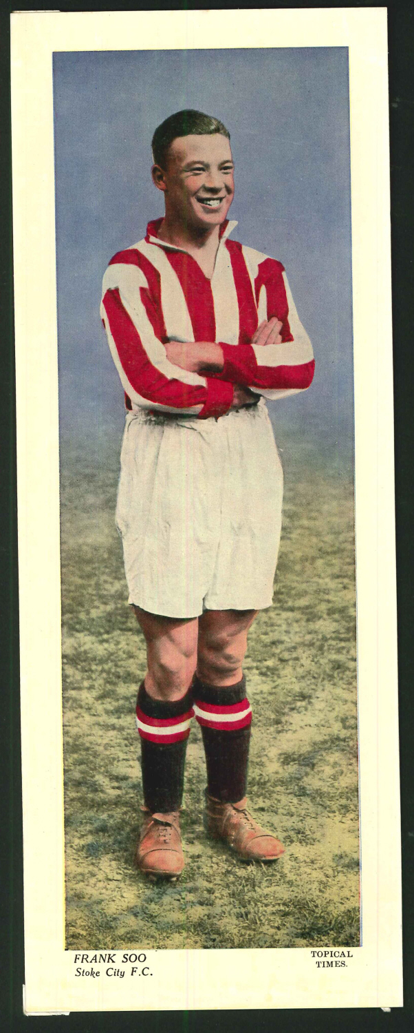Topical Times Large Coloured Frank Soo Stoke City F C
