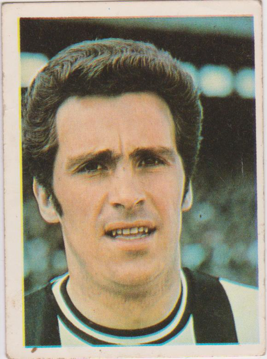 Top Sellers / Panini FOOTBALL'74 Card No. 219 Bobby Moncur
